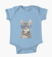 Seeing Eye Cat One Piece - Short Sleeve