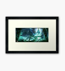 Final Fantasy VII - Midgard Framed Print