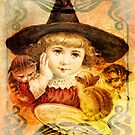HALLOWEEN AND SPILLED MILK by Tammera