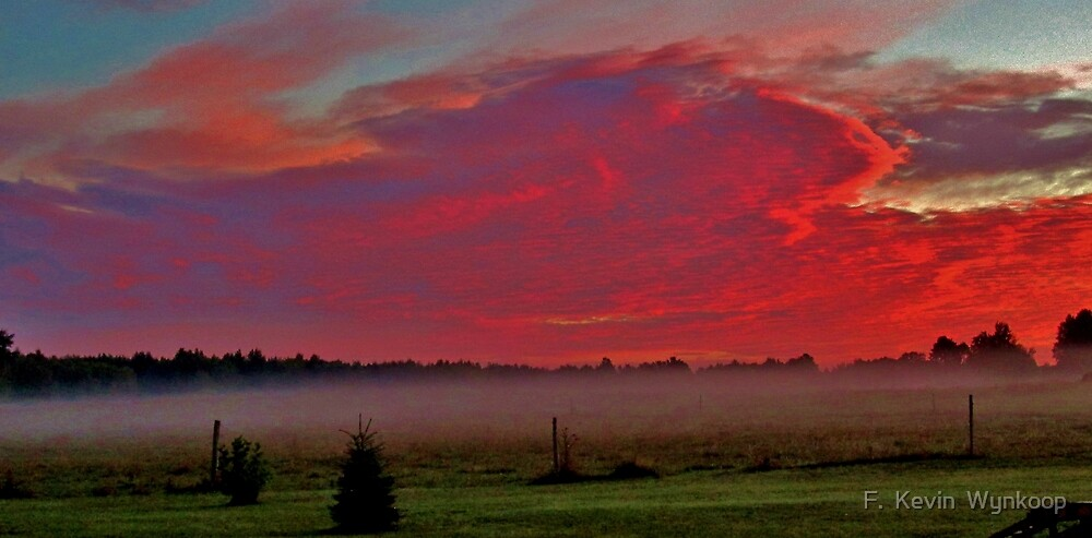 Sunrise Grand Travers County, MI by F.  Kevin  Wynkoop