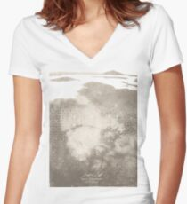 Misty Lab 2 Women's Fitted V-Neck T-Shirt