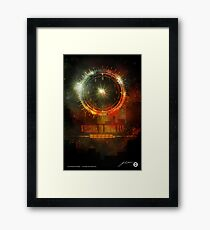 Welcome To Dooms Day (Poster) Framed Print