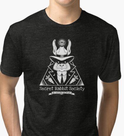 The Secret Rabbit Society Tri-blend T-Shirt
