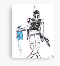 No Disintegrations Canvas Print