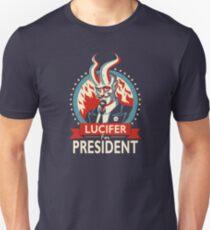 Lucifer For President! Unisex T-Shirt
