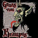 Gruss vom Krampus! by saintdevil