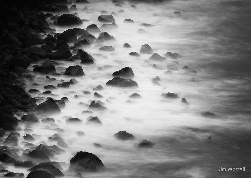 Basalt Beach by Jim Worrall