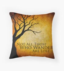 Tolkien Throw Pillow