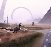 Septemberjägare by Simon Stålenhag