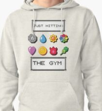 Pokemon hitting the gym Pullover Hoodie