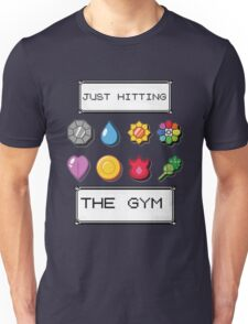 Pokemon hitting the gym Unisex T-Shirt