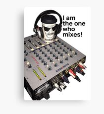 I am the one who mixes! Canvas Print