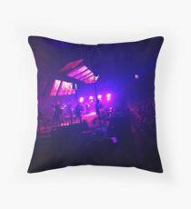 Radiohead Live St. Louis  Throw Pillow