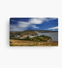 Freshwater Bay IOW Canvas Print