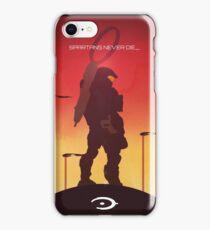 Spartan's Never Die - Halo iPhone Case/Skin