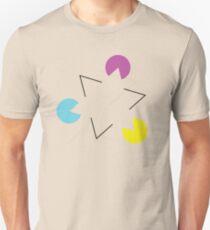 Gestalt Continuity Triangle Coloured T-Shirt