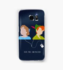 Peter Pan and Wendy iPod Samsung Galaxy Case/Skin