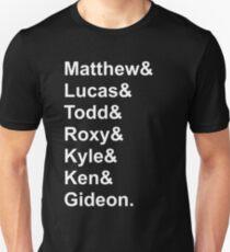 Seven Evil Exes Jetset T-Shirt