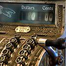 Antique Cash Register by printscapes