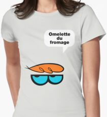 Omelette du fromage Women's Fitted T-Shirt