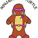 NINJABREAD TURTLE PURPLE by Skree