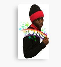 I Love Band Canvas Print