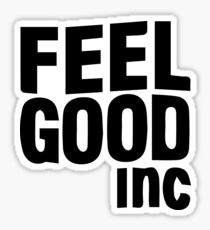 FEEL GOOD INC. Sticker