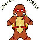 NINJABREAD TURTLE RED by Skree
