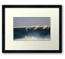 The Art Of Surfing In Hawaii 24 Framed Print