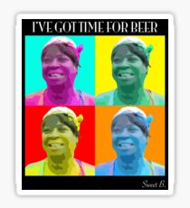 Sweet Brown - Time 4 Beer Sticker
