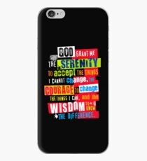 Serenity Prayer Original Graphic design iPhone Case