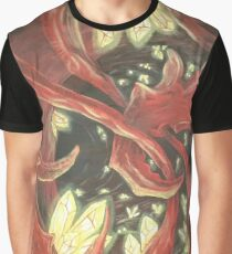 Red Organica Graphic T-Shirt