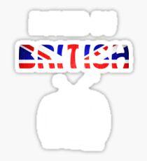 Ruined By British Telly /updated/ Sticker