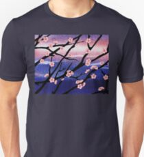 Cherry Blossoms Decorative Painting T-Shirt