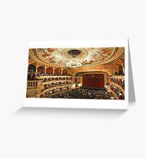 Budapest Opera House Greeting Card