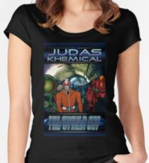 Judas Khemical - You should see the other guy Women's Fitted Scoop T-Shirt