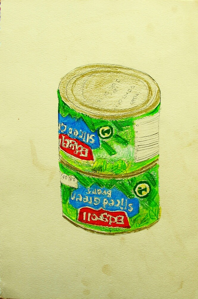 sliced green beans by donna malone
