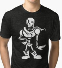 Papyrus Design Undertale Tri-blend T-Shirt