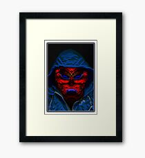 ©DA Aldebaran Alien Portraid IAII Framed Print