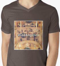#LosAngeles© Mens V-Neck T-Shirt