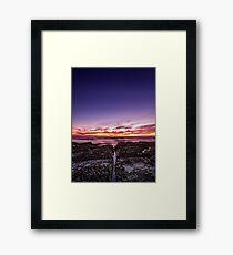 ~ the forgotten sunrise ~ Framed Print