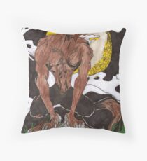 The Wolfman Throw Pillow