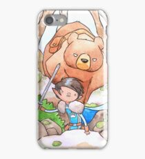 A Boy and his Bear iPhone Case/Skin