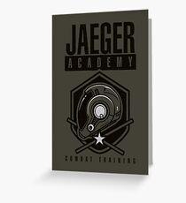 Jaeger Academy Greeting Card