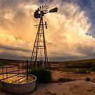Windmill storms by Rodney Wallbridge
