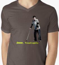 Walt Jr - Tread lightly - Large Men's V-Neck T-Shirt
