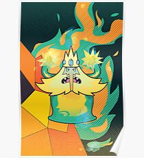 Ice King Simon Petrikov Poster