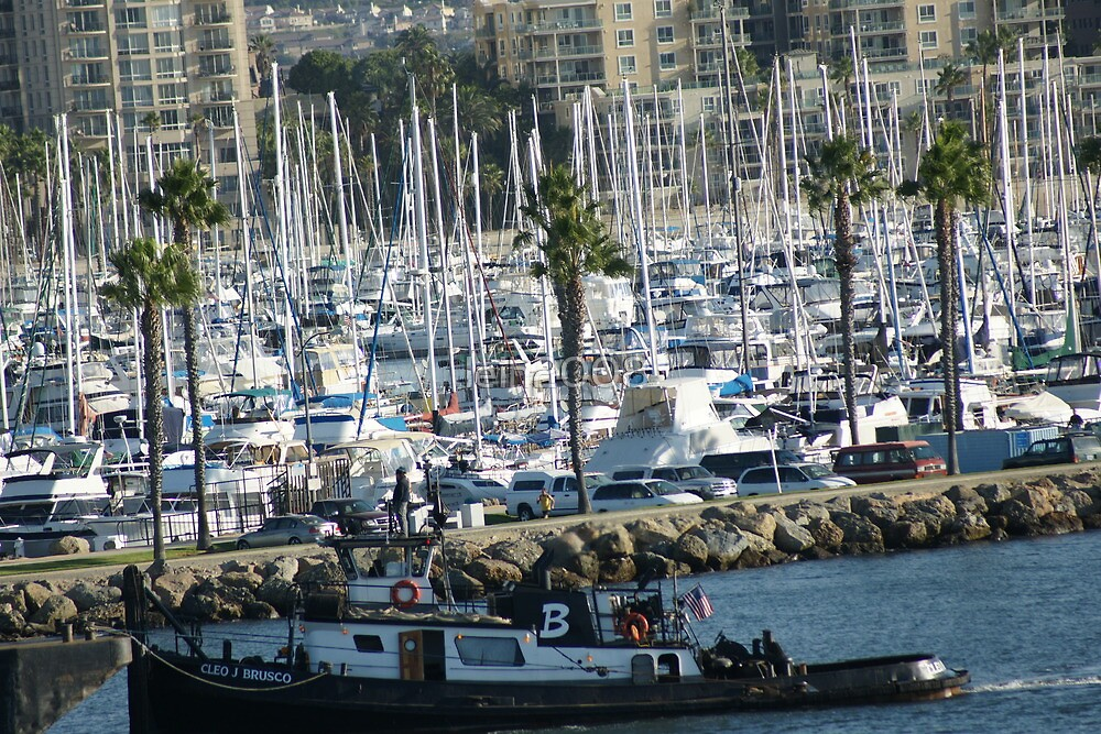 Arriving; Long Beach, CA USA by leih2008