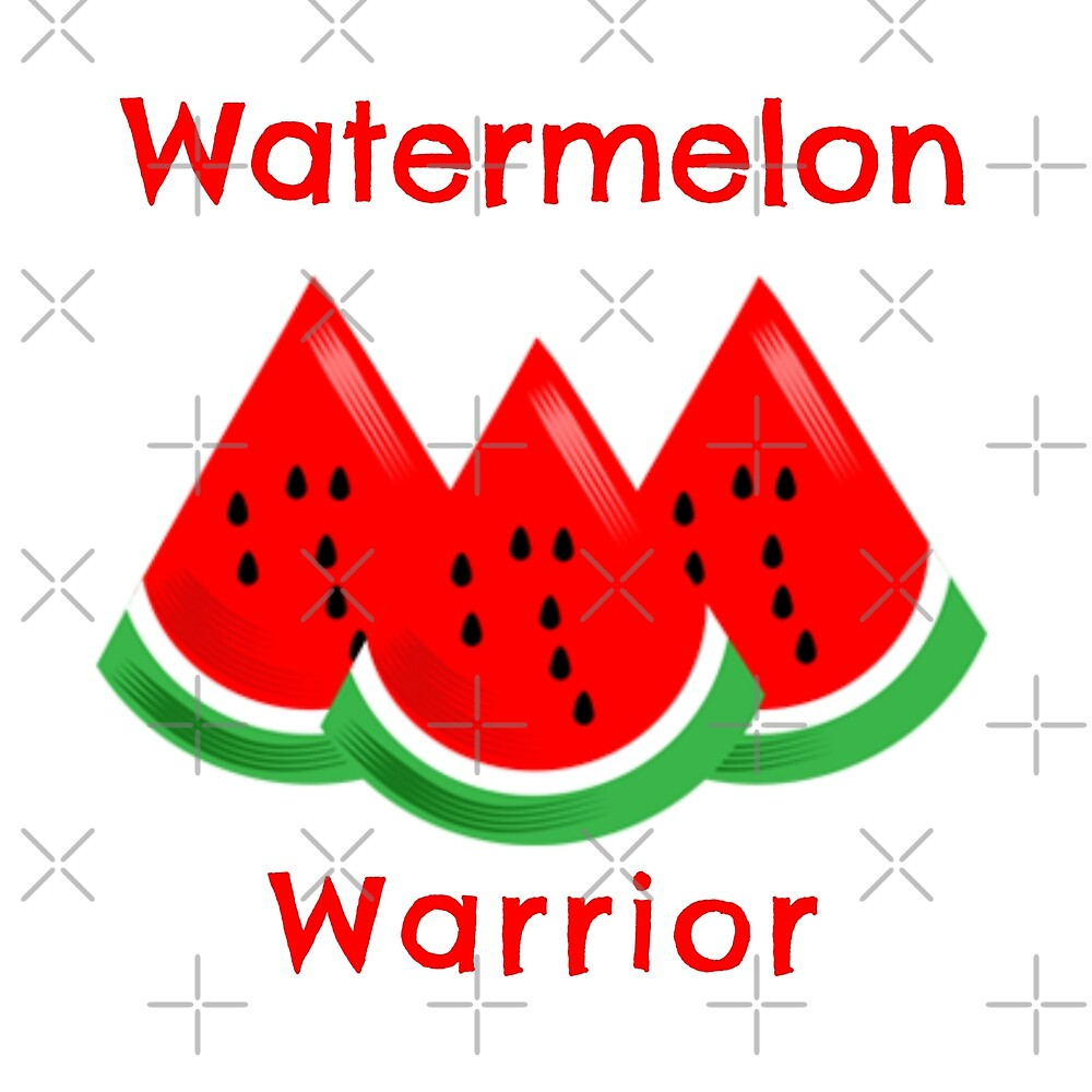 Watermelon Warrior by Sweevy Swag