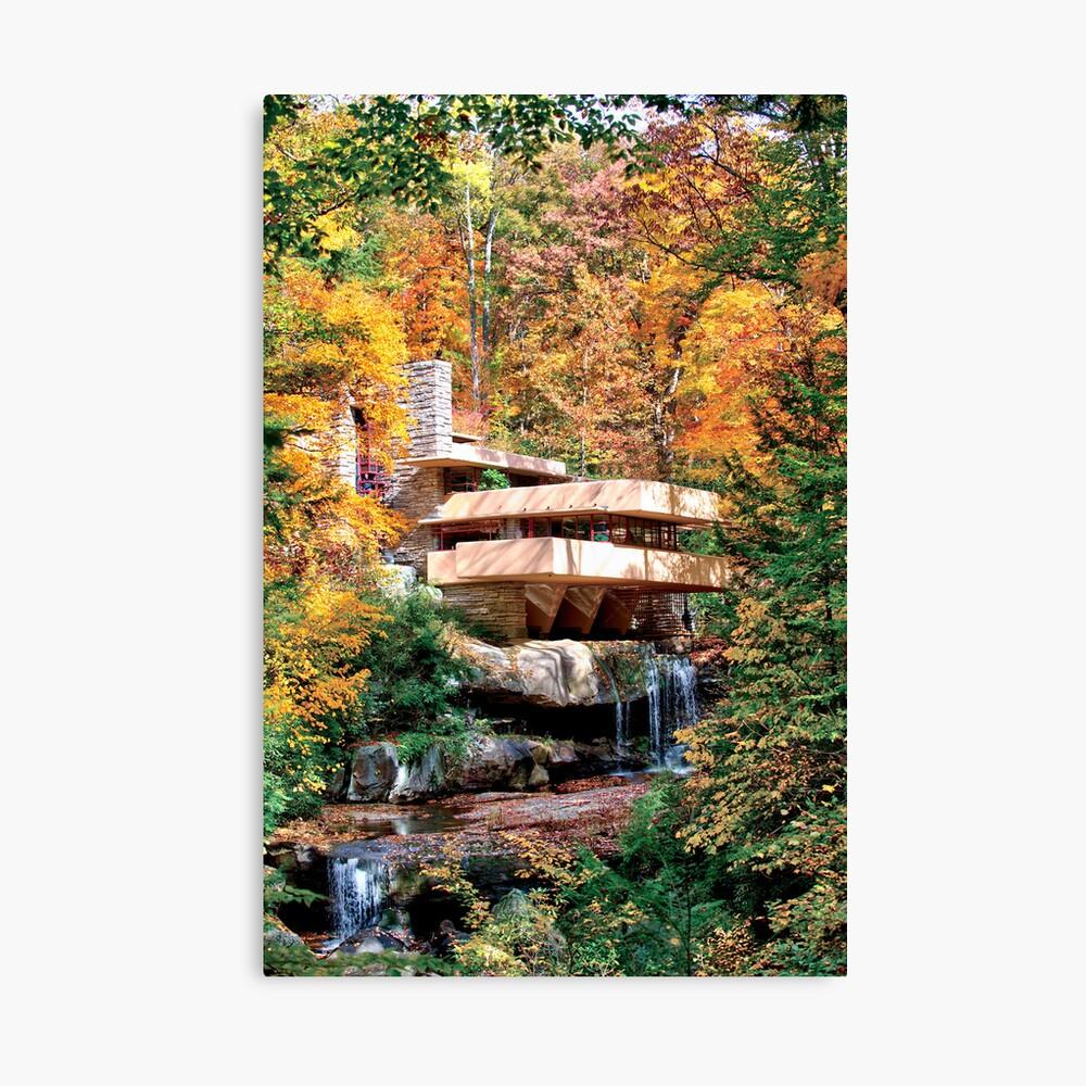 Frank Lloyd Wright Fallingwater Lienzo